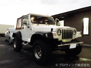 jeepラングラー